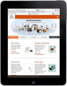 responsive design for ipad and tablet