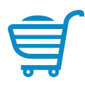 graphic of shopping cart